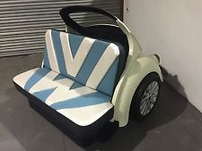 Now this is COOL! Classic VW Beetle Sofa Beetle Booth Cool Couch VW bug Seat Car Furniture Herbie