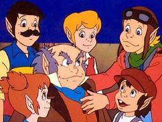 Serie de dibujos animados.   The Littles (Los diminutos). 1983- 1985.