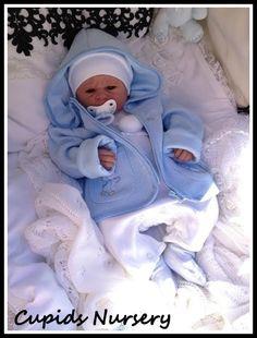 Full body silicone baby doll , Ronan 3