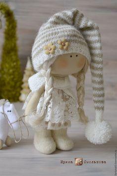 текстильная куколка Полинка