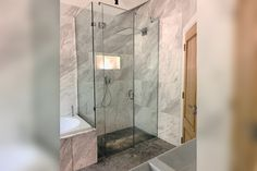 Reduced depth shower enclosures free up more space for the rest of the bathroom Glass Suppliers, Laminated Glass, Glass Balustrade, Custom Mirrors, Glass Shower Doors, Custom Glass, Wet Rooms, Shower Enclosure, Glass Shelves