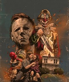 Micheal Myers-Halloween Movie Poster..........