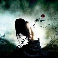 Nunca volte para a pessoa que constantemente te machuca! Dark Fantasy Art, Dark Gothic Art, Fantasy World, Dark Art, Gothic Artwork, Aquarell Tattoos, Arte Obscura, Ange Demon, Goth Art