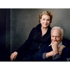 """""""The Sound of Music turns 50! Julie Andrews and Christopher Plummer pose for Annie Leibovitz in honor of the film's anniversary. Pick up the March issue…"""""""