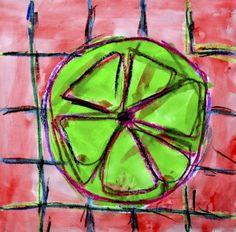 Citrus fruits in complementary colors Fruit Art Kids, Citrus Fruits, Preschool Activities, Third Grade, Colors, Creative, Student, Painting, Painting Art