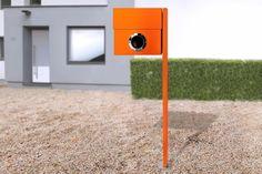 Radius Design - Standbriefkasten Letterman XXL orange