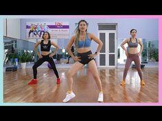 45 minuten intensieve training - Verbrand calorieën en krijg zandloperlichaam   Eva Fitness - YouTube