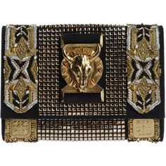 BALMAIN Clutch (1,185) found on Polyvore