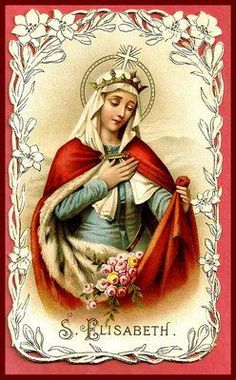"St Elizabeth of Hungary, when she was a little girl and used to play about the palace with her companions, would always pick a spot near the chapel so that every now and then, without being noticed, she might stop by the chapel door, kiss the lock, and say to Jesus, ""My Jesus, I am playing, but I am not forgetting You. Bless me and my companions. Goodbye."""