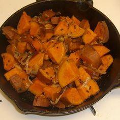 Ayurvedic Diet: Sweet Potato with Pumpkin Spice & Mustard Seed