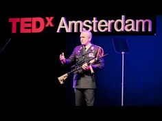 """❛Peter van Uhm❜ TEDxAmsterdam 2011: """"Why I chose a gun"""" ~ """"Peter van Uhm is the Netherlands' chief of defense, but that does not mean he is pro-war. At TEDxAmsterdam he explains how his career is one shaped by a love of peace, not a desire for bloodshed – and why we need armies if we want peace."""""""