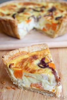 KO Rasoi: Eggless Quiche with Sweet Potatoes, Caramelised Onions and Feta