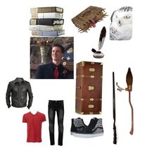 """Gryffindor Guy"" by alliegirl201 ❤ liked on Polyvore featuring Forzieri, Vans, The Bridge, Nimbus, men's fashion and menswear"