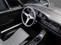 Porsche 911 ST by PS Automobile  964 chassis and engine basis with classic ST body; Nardi Classico steering wheel