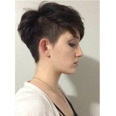 @kate_the_weirdo #andro #androgynous #androgyny #clipped #girlswithshorthair #girlswholooklikeboys #hair #haircut #nothingbutpixies #pixiecut #pixie #skinheadstyle #undercut #urbanoutfitters #uo