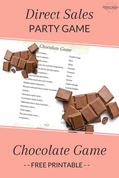 Easy game to set-up and play and guests love it. Add this direct sales party game to your collection. Read the article and pop in your email address to get the free printable to get started >> Direct Sales Games, Direct Sales Party, Jewelry Home Parties, Jewelry Party, Body Shop At Home, The Body Shop, Home Party Games, Norwex Party