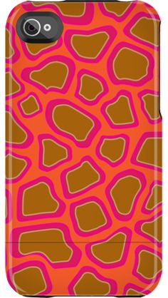 """""""Neon Giraffe"""" by Uncommon for the iPhone 4/4S Capsule"""