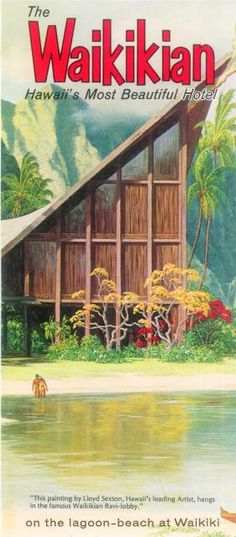 1958 pics Waikikian / Tahitian Lanai