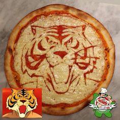 TigerMan (pizza tomato&mozzarella)
