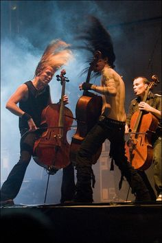 Headbanging and playing cello <3 Part of why I love them