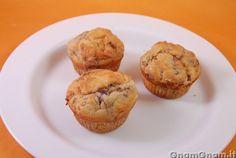 Muffin salati radicchio e gorgonzola