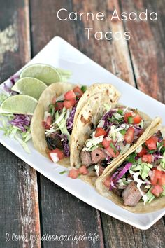 Carne Asada Tacos {and a $350 CASH Back to School Giveaway!}