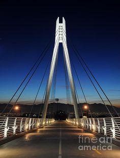 "Pedestrian bridge, University of Utah, Salt Lake City, UT. This bridge didn't exist in the when the protagonist of This Land Divided tramped the campus of ""The U. Wyoming, Idaho, Nevada, Arizona, Utah State University, Salt Lake City Utah, Pedestrian Bridge, George Washington Bridge, Travel Usa"