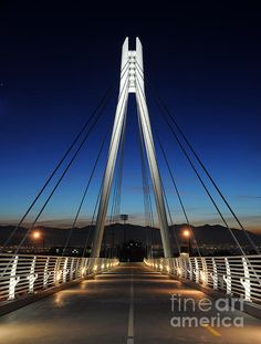 pedestrian bridge, University of Utah, Salt Lake City, UT