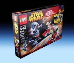 7283 Ultimate Space Battle (2005) - 567 pieces, 6 mini-figures.