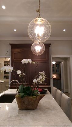 Home for the Holidays Showhouse kitchen pendants - LightsOnline Blog