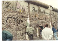Fall of the Berlin Wall, from the collection of the Cold War Museum.