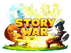 Story War, A Combative Card-Based Storytelling Party Game