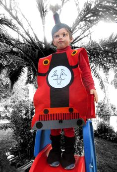 af09b7796e4 James the train inspired halloween costume for toddlers, thomas the tank  engine costume, thomas halloween costume. Κοστούμια CosplayDress Up