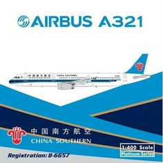 China Southern Airlines A321 Phoenix Model