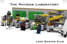 LEGO Ideas - The Physics Laboratory / Lego Science Club