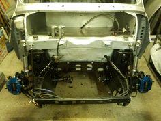 Miglia bulkhead and lightened subframe Mini Drawings, Mini Stuff, Mini Trucks, Roll Cage, Classic Mini, Minis, Race Cars, British, Inspiration