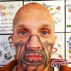 Hannibal Face Tattoo