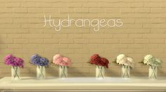What a Beautiful Day | Spring Flowers Modified TS4 Meshes Thank...