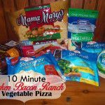Chicken Bacon Ranch Vegetable Pizza Recipe