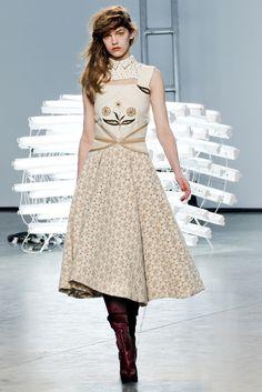Rodarte Fall 2011 Ready-to-Wear Fashion Show - Caroline Trentini