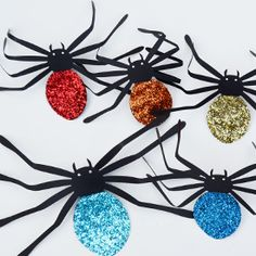 Transform your Halloween decorations with one easy thing...glitter.