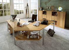 """Schreibtisch """"Calva 01"""" : Escrivaninhas por Allnatura"""