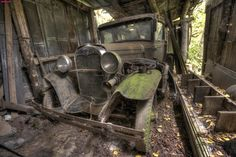 1930 Model A Ford Barn Find