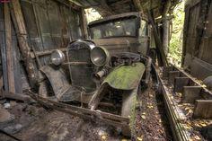 1930 Model A Ford Barn Find
