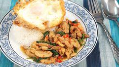 Stir Fried Chicken with Basil - Pad Kra Pao Kai (ผัดกระเพราไก่)