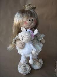 Картинки по запросу вязаная кукла