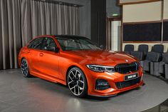 The new BMW in Sunset Orange exterior paint, equipped with M Performance Body Kit, Black kidney grille with M stripes and fitted with… Bmw 330i, Bmw Cars, Bmw E46, Abu Dhabi, Rolls Royce, Bmw Tuning, Carros Bmw, Bmw 7 Series, Sports Sedan