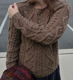 Must Have Cardigan by Patons - this is a sweater variation of a beautiful old pattern (XS-L)