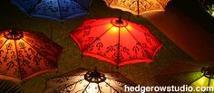 Hedgerow Studio Lighted Patio Umbrella Patio Umbrellas, Studio Lighting, Design