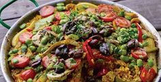 Yotam Ottolenghi's multi-vegetable paella